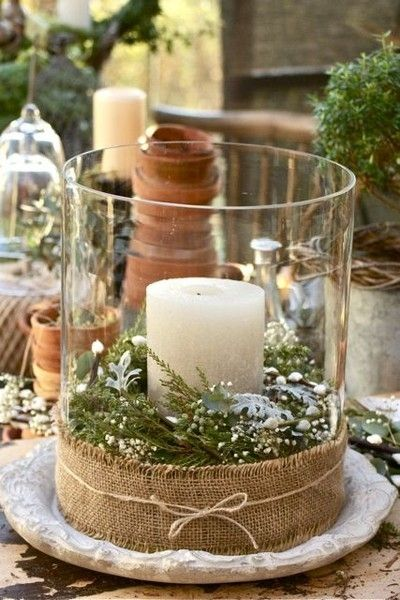 21 Rustic Christmas Decorations, keep it simple