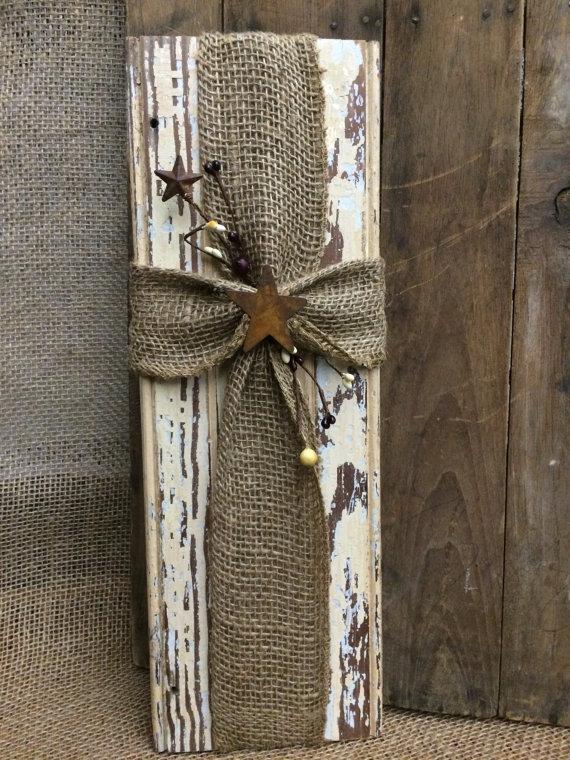 19 DIY Burlap crafts and Ideas