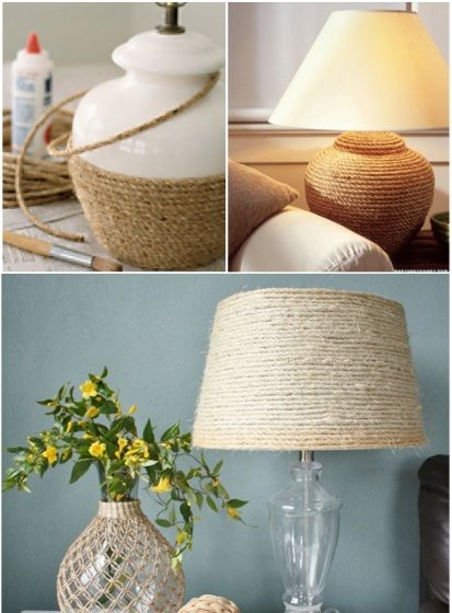 17 DIY Decor With Rope Ideas