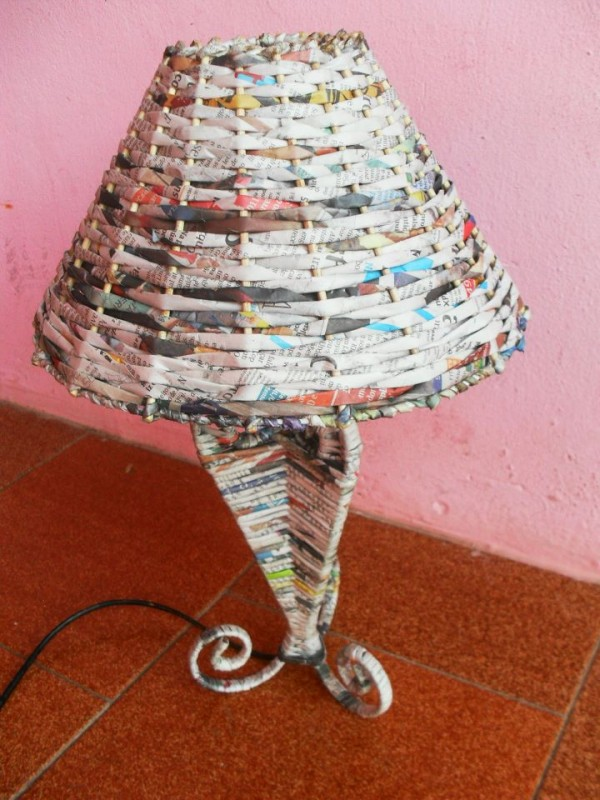 Newspaper Craft Ideas Step By Step