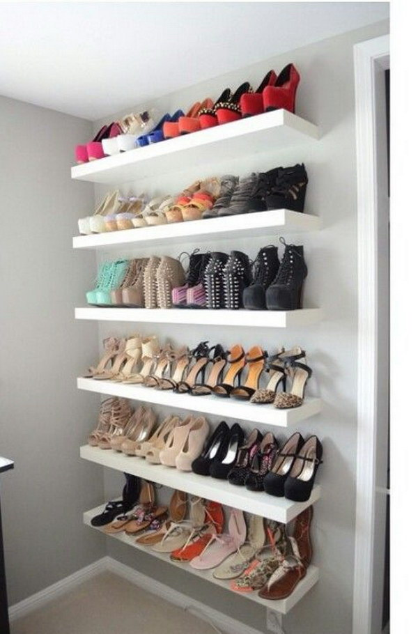 21 diy shoes rack shelves ideas i do myself 21 diy shoes rack shelves ideas solutioingenieria Choice Image