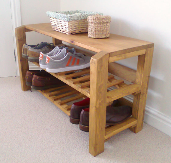 21 DIY Shoes Rack & Shelves Ideas
