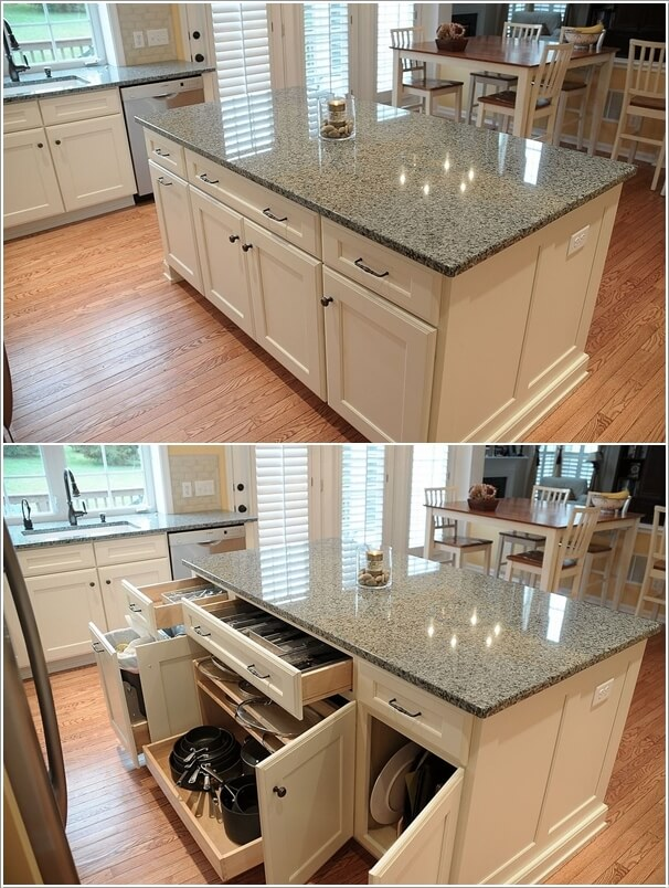 22 kitchen island ideas i do myself - Small kitchen island with storage ...