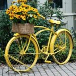 17 Old Bikes In The Garden - Upcycle Them!