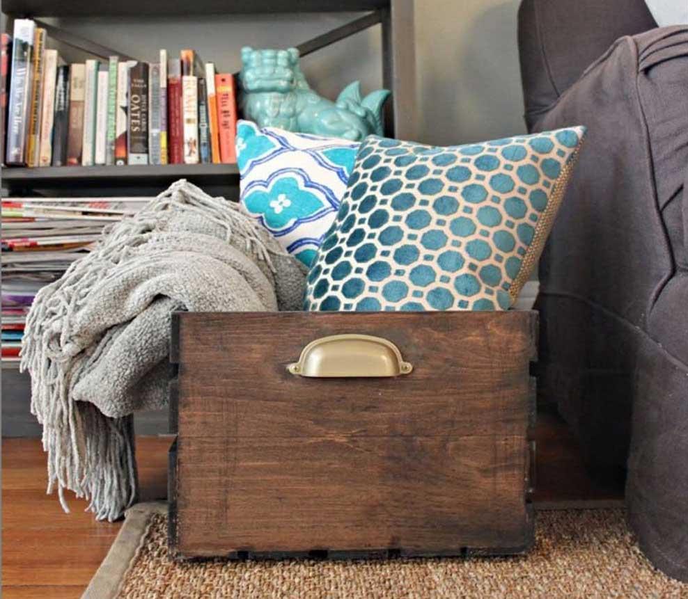 12 Wooden Box Centerpieces Ideas