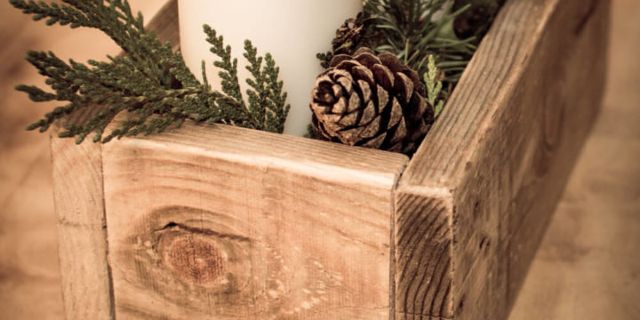 12 Wooden Box Centerpiece Ideas