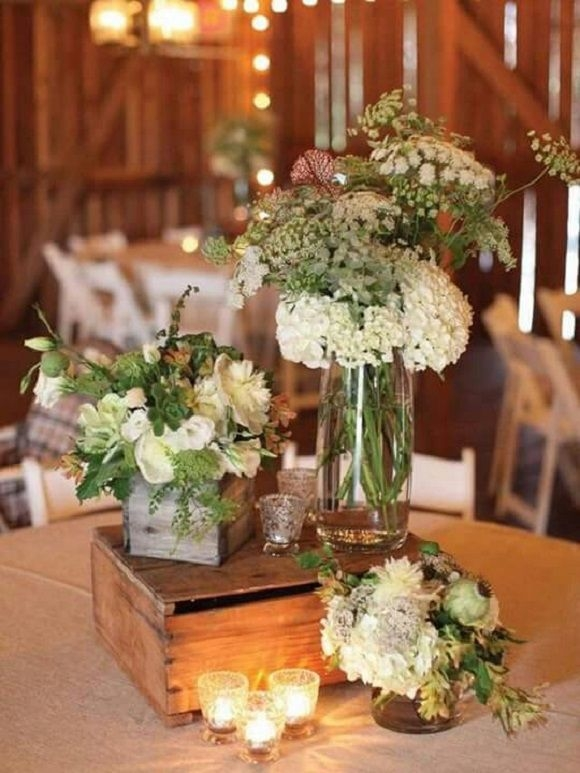 Wooden box centerpieces ideas i do myself